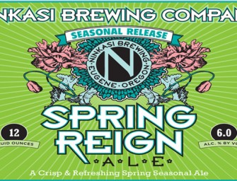 Ninkasi Brewing Spring Reign is Available Now Through May