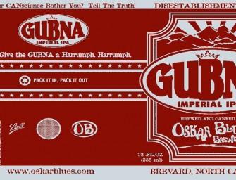 Oskar Blues Dry Hopped GUBNA Release Details