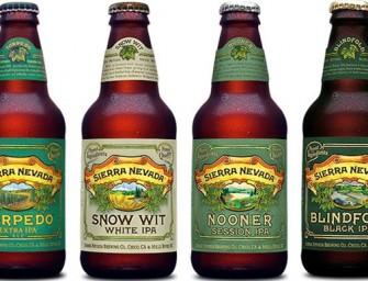 Sierra Nevada New 4 Way IPA 12 Pack Release Details