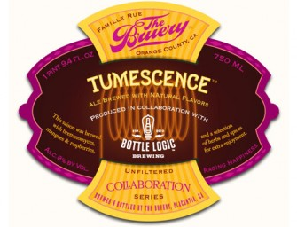The Bruery & Bottle Logic Collaboration Tumescence Saison