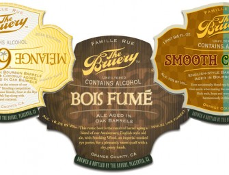The Bruery Introduce Melange 9, Smooth Criminal & Bois Fume