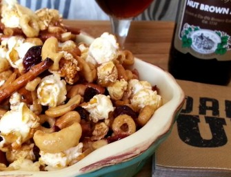 Sweet & Spicy Brown Ale Snack Mix