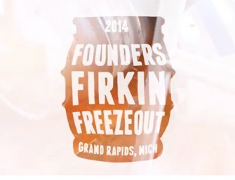 Founders Firkin Freezout 2014 (Video)