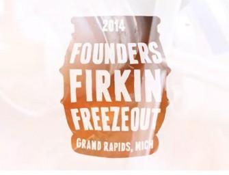 Founders Firkin Freezout 2014 (Video)