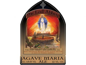 Lost Abbey Tequila Barrel Aged Agave Maria Ale