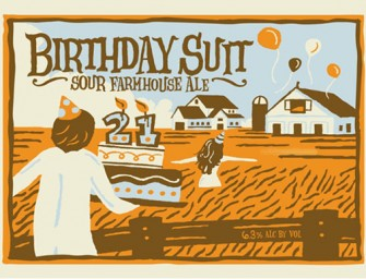 Uinta 21st Birthday Suit Sour Farmhouse Ale