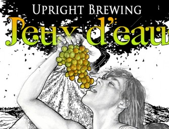 Upright Brewing Jeux deau Bottle Release March 8th