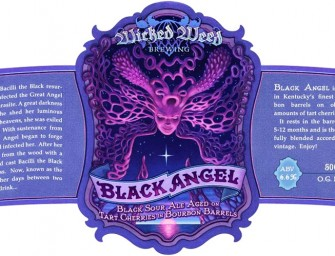 Wicked Weed Black Angel Cherry Sour Bottle Release