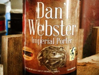 Cigar City Hoppin Frog Dan'l Webster Collab Release April 29th