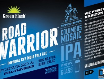 Green Flash Road Warrior IPA Coming In May