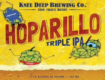 Knee Deep Brewing Hoparillo Triple IPA