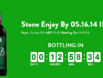 Stone Brewing Enjoy By 05.16.14 Release Details