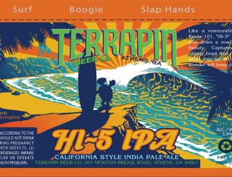 Terrapin Beer HI-5 Second Year Round Can This May