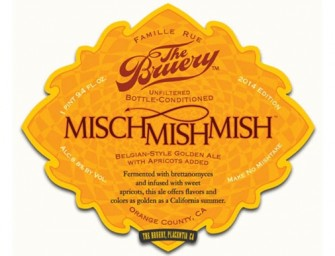 The Bruery Mischmishmish Super Limited Release