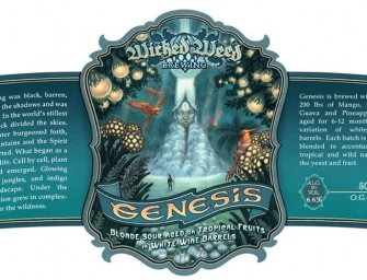 Wicked Weed Genesis Sour Blonde Ale Release Details