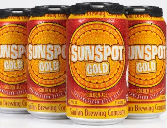 SanTan Brewing Brings SunSpot Golden Ale To Cans