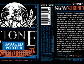 Stone Smoked Porter W Chipotle Peppers Returns