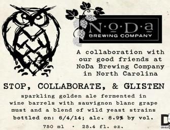 Night Shift And Noda Brewing Stop, Collaborate, & Glisten Release Details