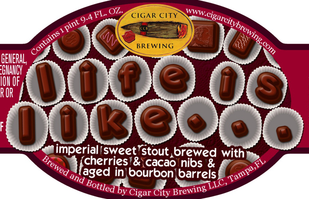 Cigar City Brewing Releases Life is Like