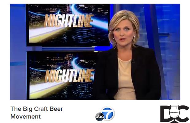 """The Big Craft Beer Movement"" on Nightline ABC News"