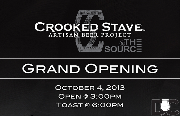 Crooked Stave opening new taproom at The Source Oct 4th