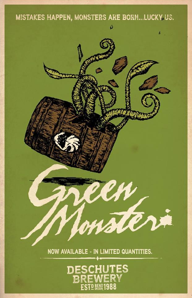 Deschutes Brewery releases Green Monster