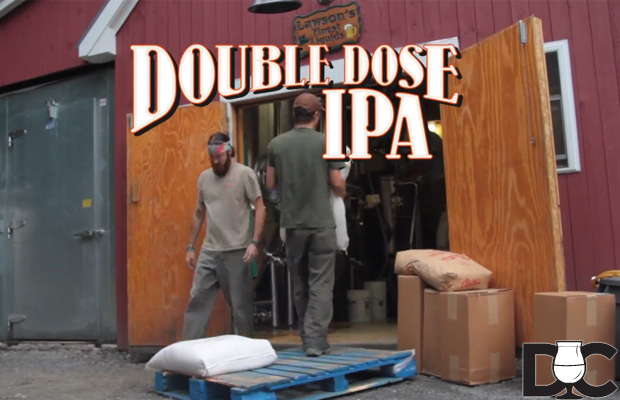 Lawson's Finest & Otter Creek Collab – Double Dose IPA (Video)