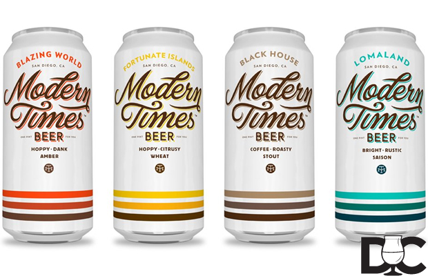 Modern Times Beer cans will hit distro in October