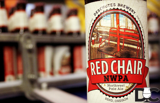 Deschutes Brewery Red Chair Pale Ale being bottled this week