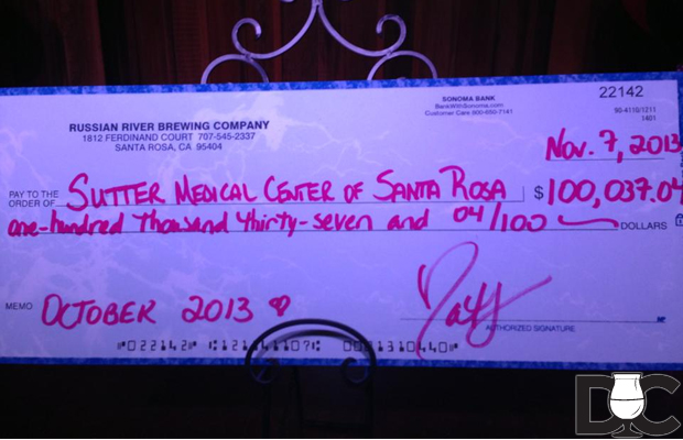 Russian River Brewing raises over $100,000 for Sutton Medical Center