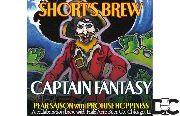 Half Acre & Shorts Brewing Captain Fantasy Collaboration Returns