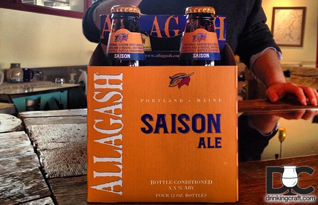 Allagash Brewing New Saison 4 Packs Coming