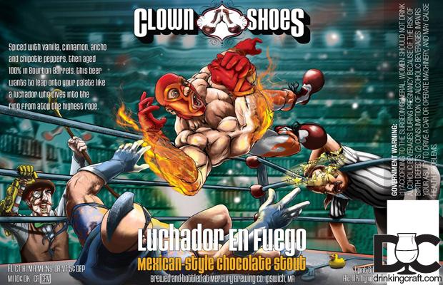 Clown Shoes Luchador En Fuego Returns In March