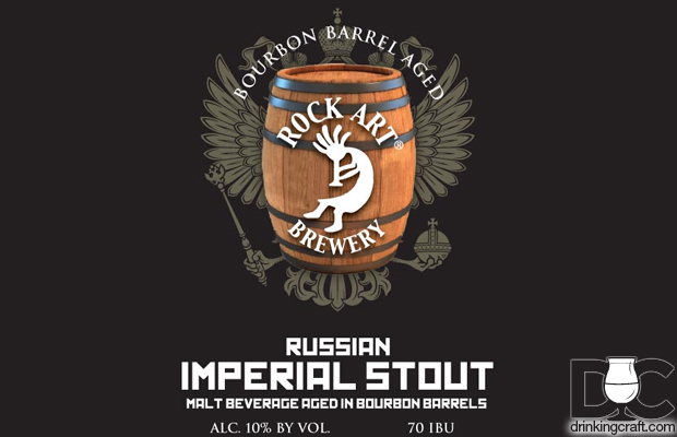 Rock Art Brewery Barrel Aged Stout Release This Week