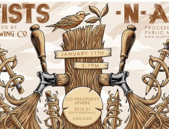 4 Hands, 3 Floyds, Half Acre, Pipeworks Artists 'n Ales Charity Event