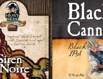 Heavy Seas Barrel Aged Siren Noire & Black Cannon IPA Details