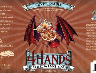 4 Hands Brewing Cuvee Diable Release March 5th
