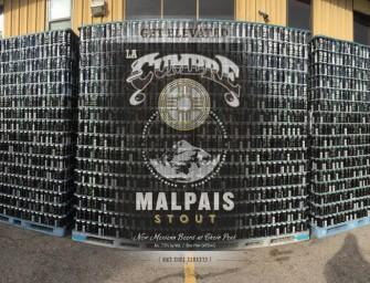 Back in Black: La Cumbre's Malpais Stout now available in cans