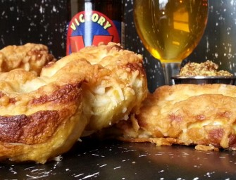 Victory Lager & 4-Cheese Soft Pretzels