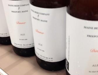 Maine Beer Co Dinner DIPA Bottle Release