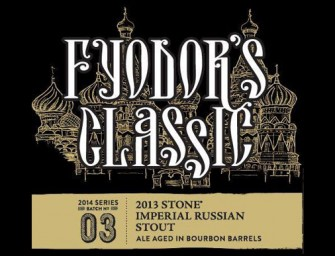 Stone Fyodors Classic & Mikhails Odd Barrel Aged RIS Release Details