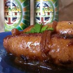 Brown Butter & White Rajah Sausage and Onions