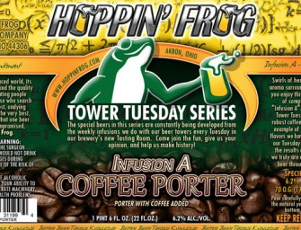 Hoppin Frog Infusion A Coffee Porter Release Details