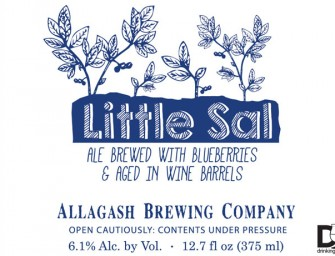 Allagash Little Sal Wine Barrel Aged With Blueberries