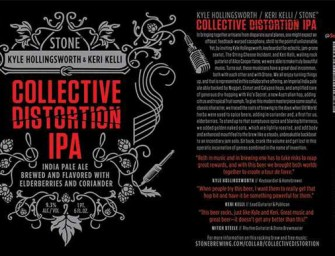 Stone Collective Distortion IPA Official Release Details