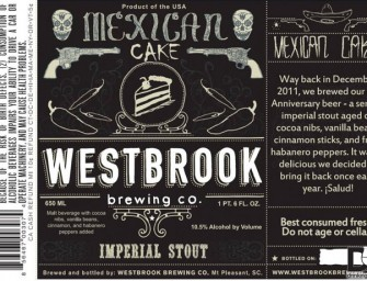 Westbrook Brewing Mexican Cake Release May 23rd