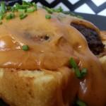 Welsh Rarebit Burger Detail