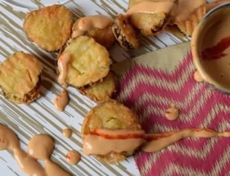 Tripel Threat Fried Pickles